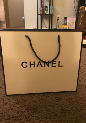 Chanel paper bag for Sale in Pullman, WA