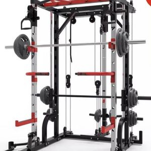 Smith Machine Home Gym Power Cage Squat Rack for Sale in Mission Viejo, CA