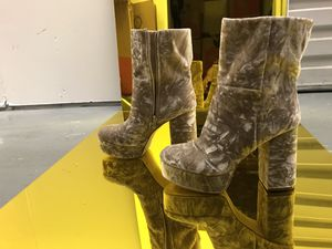 Suede Tan OU boots. for Sale in Los Angeles, CA
