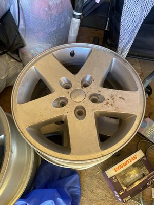 Jeep Wrangler wheels 17x7.5 for Sale in Ceres, CA