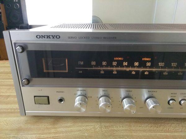 Onkyo Silver Face Receiver. $100