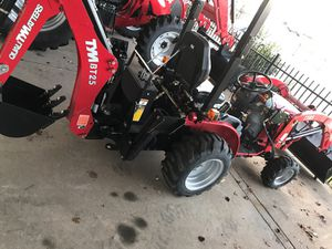 Tym T254 with Bt25 backhoe for Sale in Mesquite, TX