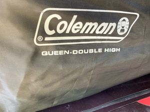 Coleman queen double high air mattress for Sale in Bakersfield, CA