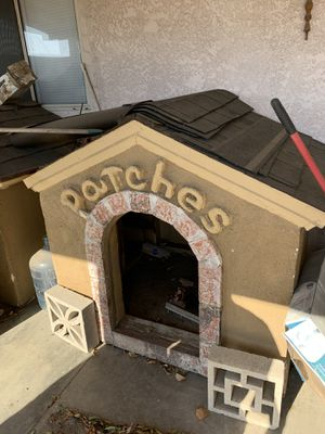 Custom Built Outdoor Double Dog Houses for Sale in Rancho Cucamonga, CA