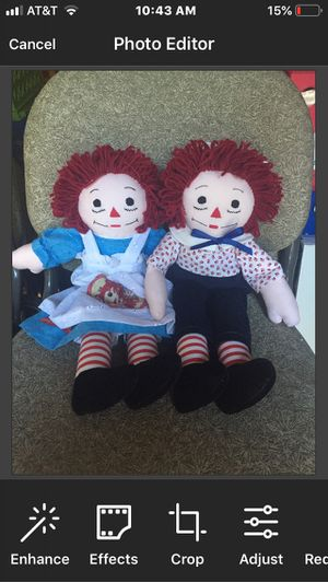 Raggedy Ann & Andy Dolls for Sale in Azle, TX