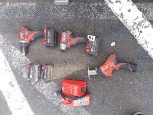 Milwaukee 18V / 12V Tools for Sale in Everett, WA