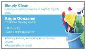 Simply clean professional commercial /residential /office cleaning for Sale in Denver, CO