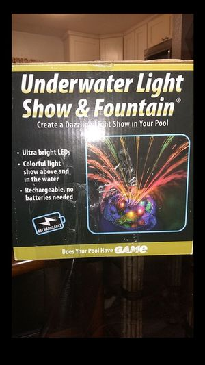 Under Water Light Show & Fountain for Sale in Los Angeles, CA