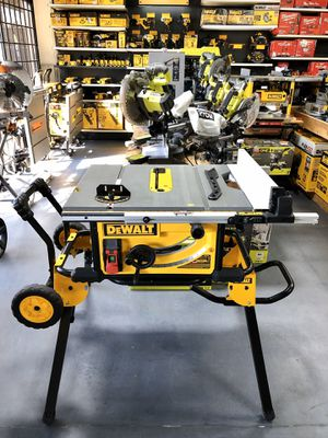 DeWALT Table Saw with Rolling Stand for Sale in Garden Grove, CA