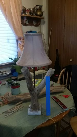 HAND MADE DRIFTWOOD LAMP for Sale in South Sioux City, NE