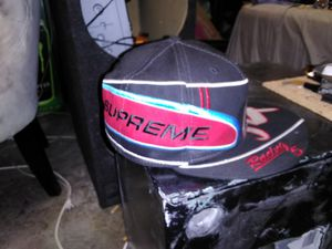 Supreme Racing Expo 94 New Era Supreme Fitted Hat Size:7 ⅜ for Sale in Lake Stevens, WA