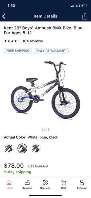 """Kent 20"""" boys bike bmx for Sale in Dearborn, MI"""