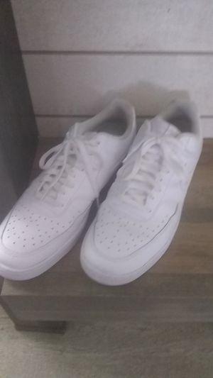 All white mens nike shoes for Sale in Addis, LA