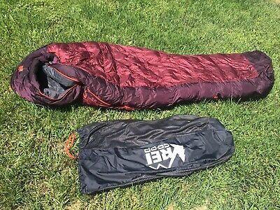 rei 21 joule mummy down sleeping bag