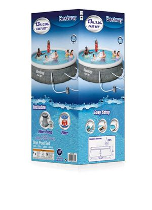 New in its box Bestway - Fast Set™ PVC 13 Foot Round Inflatable Pool Set for Sale in Bakersfield, CA