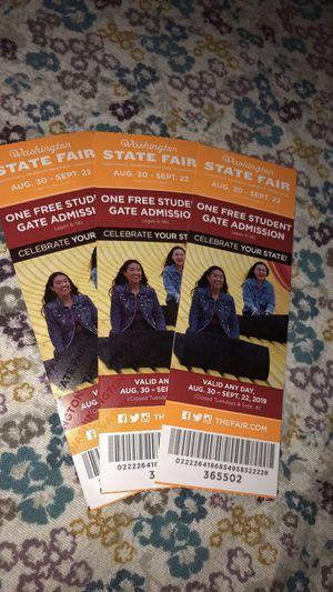 Fair tickets for Sale in Buckley, WA