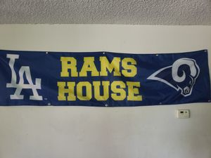 Los Angeles Rams 2x8 Tailgate Flag for Sale in Downey, CA