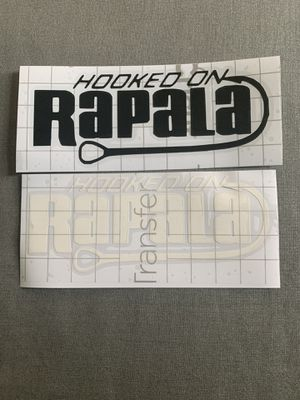 2 Rapala fishing decal bundle for Sale in Santa Ana, CA