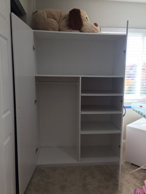 Two White shelf organizer each 100 dollar for Sale in Northbrook, IL