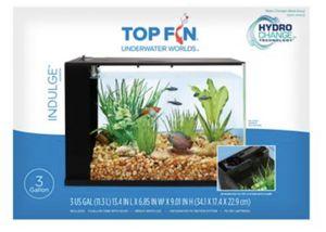 3 gallon aquarium fish tank pecera for Sale in Montebello, CA