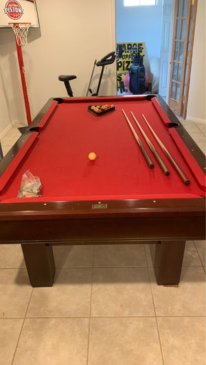 Collector Pool Table - Marlboro Branded for Sale in Orion charter Township, MI