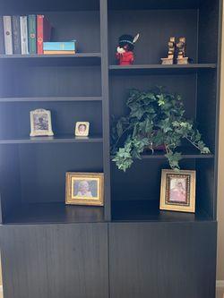 4 Piece Book Shelves/cabinet storage for Sale in Phoenix,  AZ