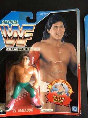 Tito Santana WWF hasbro figure for Sale in Seattle, WA