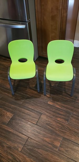 Lifetime kids chairs for Sale in Lake Elsinore, CA