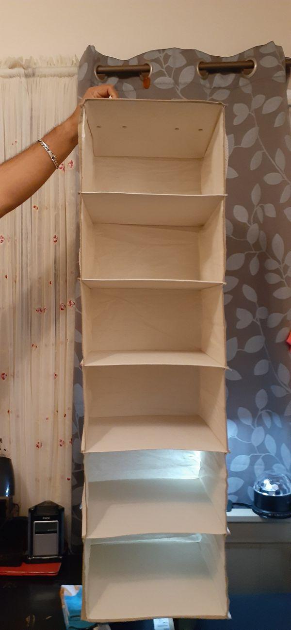 Shoe organizer for closet