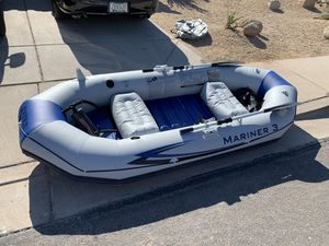 Intex Marine 3 inflatable boat for Sale in Mesa, AZ