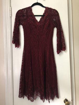 Burgundy Party Dress 👗 for Sale in Centreville, VA