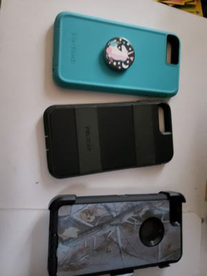 iPhone 6 plus cases and a Samsung Galaxy 9 plus case for Sale in Cullen, VA