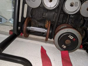 15 lbs dumbbells for Sale in Miami, FL