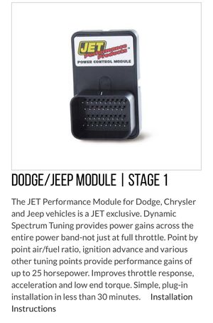 Dodge Charger /Jeep Chip performance for Sale in Charlotte, NC