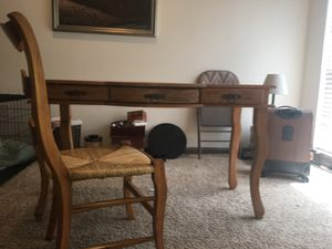 Desk with matching chair for Sale for sale  Atlanta, GA