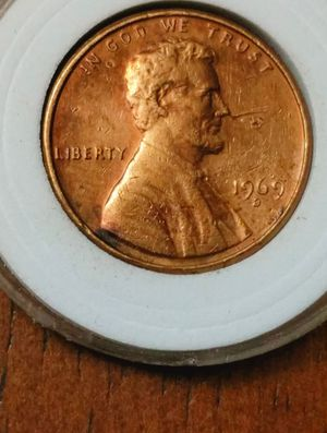 Appears to be a 1969 d dropped letter T on obverse for Sale in Moreno Valley, CA