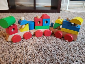 Melissa and Doug Stacking Train for Sale in Lebanon, IN