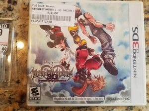 Kingdom Hearts & Rayman 3D for Nintendo 3DS for Sale in Glendale, AZ