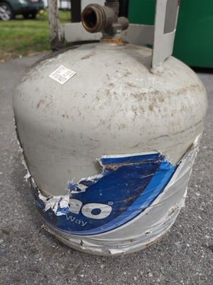 Propane Tank Grill Gas Camp RV 17 lbs Cookout for Sale in Lake Shore, MD
