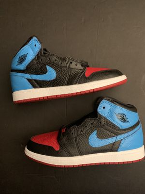 SIZE 3 Y AIR JORDAN 1 UNC TO CHI for Sale in Arlington, TX