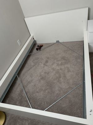 IKEA FULL Size Bed Frame, white for Sale in Land O' Lakes, FL
