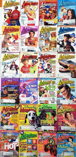 Disney Adventures Magazine Lot of 24 from 1993-1998 Vintage 90s Magazines for Sale in Harrisonburg, VA