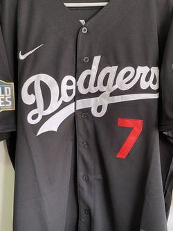 Dodgers Julio Urias World Series Jersey New Men Size S M L X Xx Xxx for Sale in Downey,  CA
