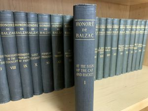 Hanore de Balzac in 25 volumes-The First Complete Translation into English for Sale in Buffalo Grove, IL