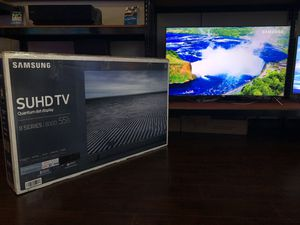 Samsung 55 inch 4K quantum tv suhd hdr Qled for Sale in Pasadena, CA