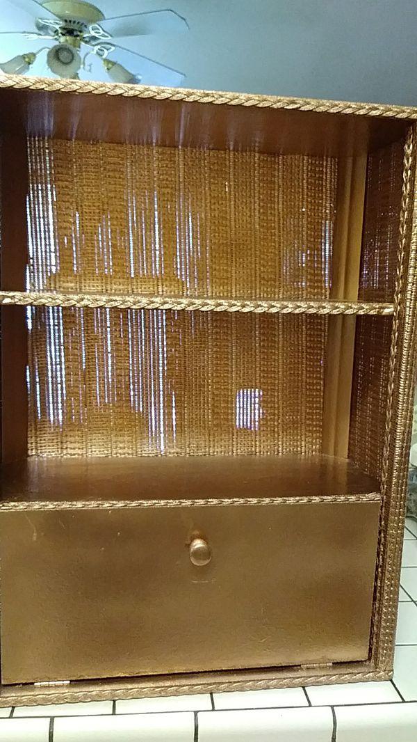 Wicker Wall Cabinet