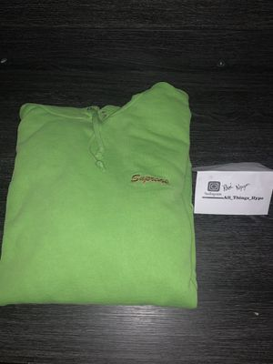 Supreme Dragon Overdyed Hooded Sweatshirt Lime for Sale in Rancho Cucamonga, CA