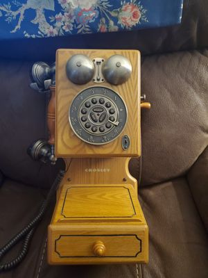 Crosley old looking antique phone which actually works. for Sale in Columbia, MO