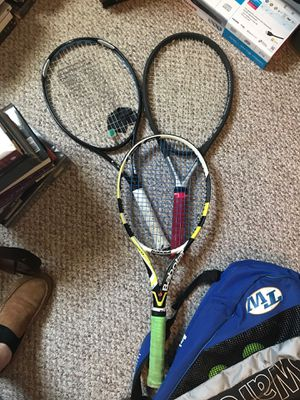 Tennis rackets and bag for Sale in Richmond, VA