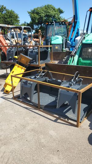 "72"" skid steer grapple buckets for Sale in Miami Gardens, FL"